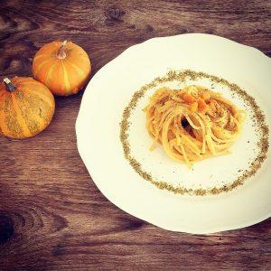 espaguetis recetas italianas calabaza