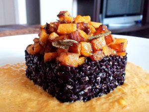 arroz recetas italianas calabaza