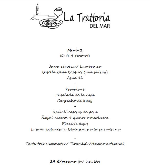 menus navidad almeria 2017 italiano pizzeria 2