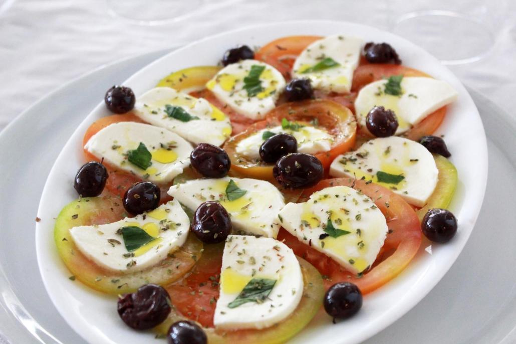 recetas italianas caprese